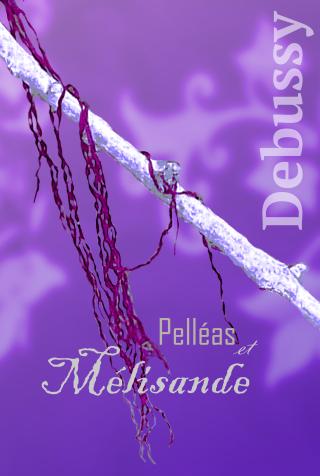 Affiches d'opéras originales Debussy.-pell%C3%A9as-et-m%C3%A9lisande